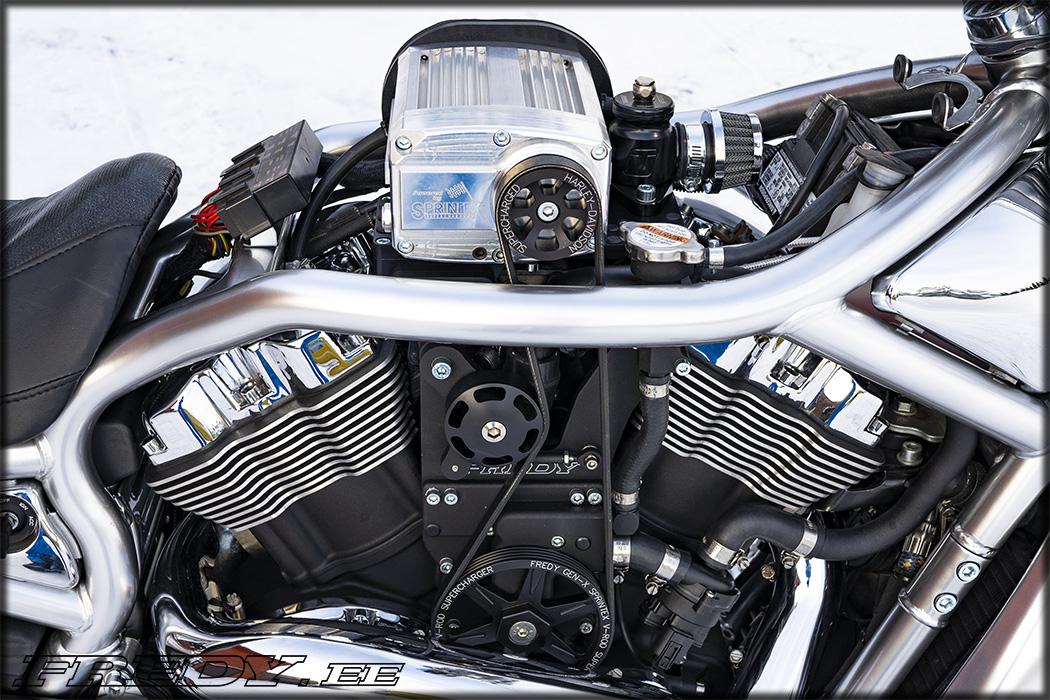 Gen-X Sprintex V-Rod Kompressor