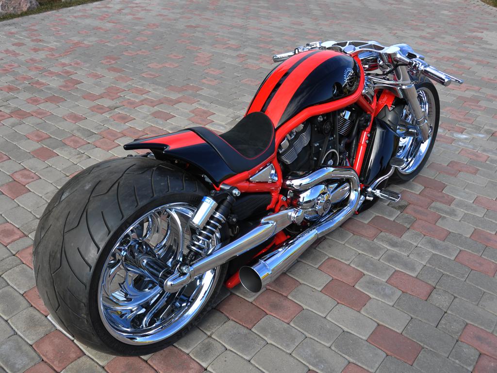Harley Davidson: '09 Harley-Davidson VRSCAW Supercharged