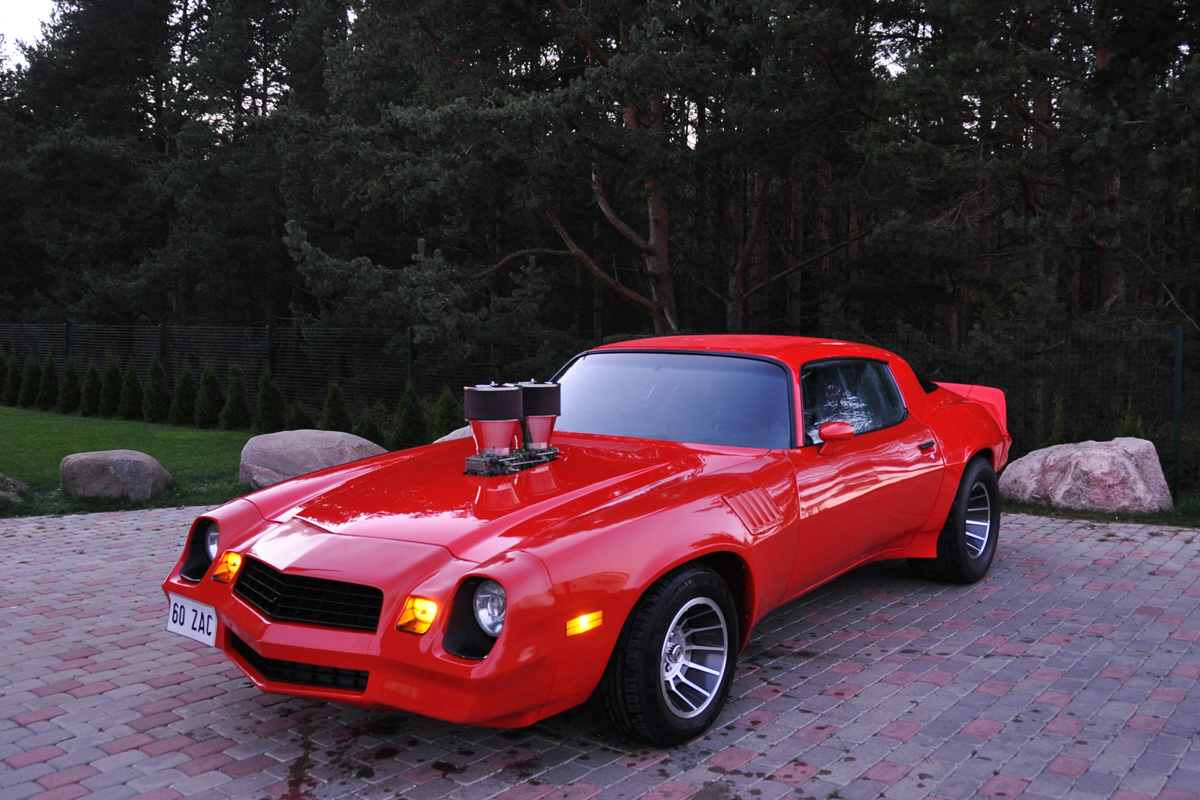 78 Chevrolet Camaro Wide Body Fredy Ee