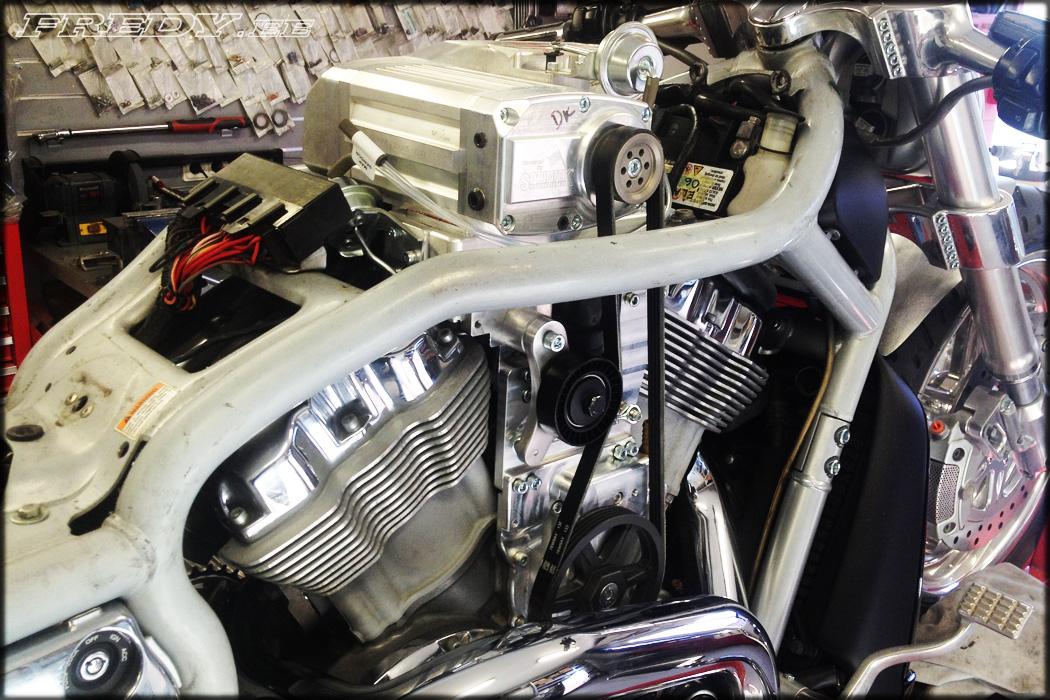 Belt Tensioner Pulley >> '03 Harley-Davidson VRSCA Supercharged 2 | Fredy.ee