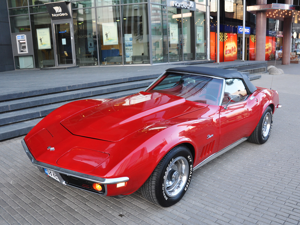 Chevrolet Corvette Stingray >> '68 Chevrolet Corvette Stingray | Fredy.ee